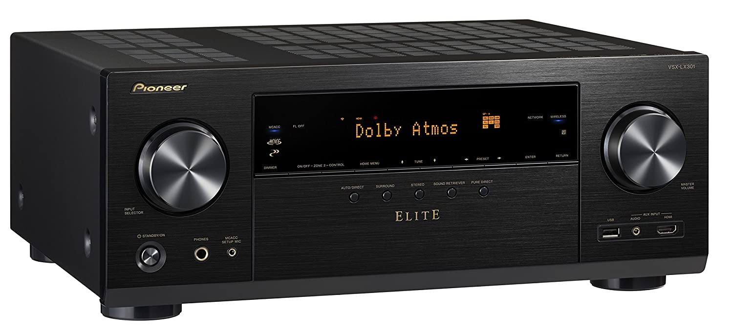 Pioneer Vsxlx301 72 Channel Networked Av Receiver With Wiring Diagrams Of Tv And Home Stereo Components Surround Built In Bluetooth Wi Fi Black Audio Theater