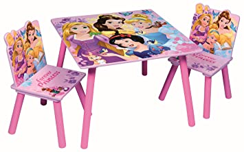 Groovy Children Wooden Table Chairs Sets Indoor Childrens Toddlers Playroom Furniture Disney Princess Caraccident5 Cool Chair Designs And Ideas Caraccident5Info