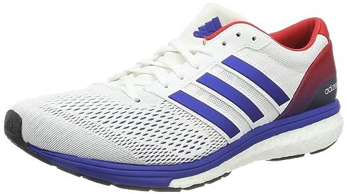 adidas Adizero Boston 6 Aktiv, Zapatillas de Deporte Unisex Adulto, Blanco (Ftwbla / Reauni / Escarl), 41 1/3 EU: Amazon.es: Zapatos y complementos