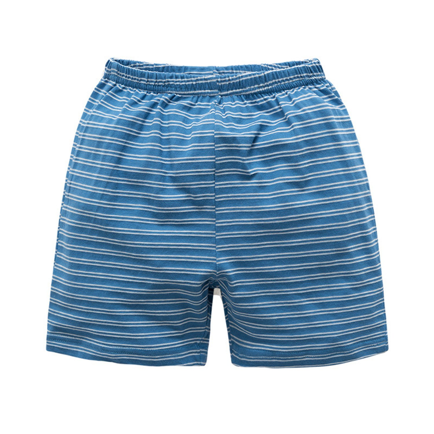 JanLEESi Baby Shorts 3-Pack Toddler Boys Small Cotton Pants