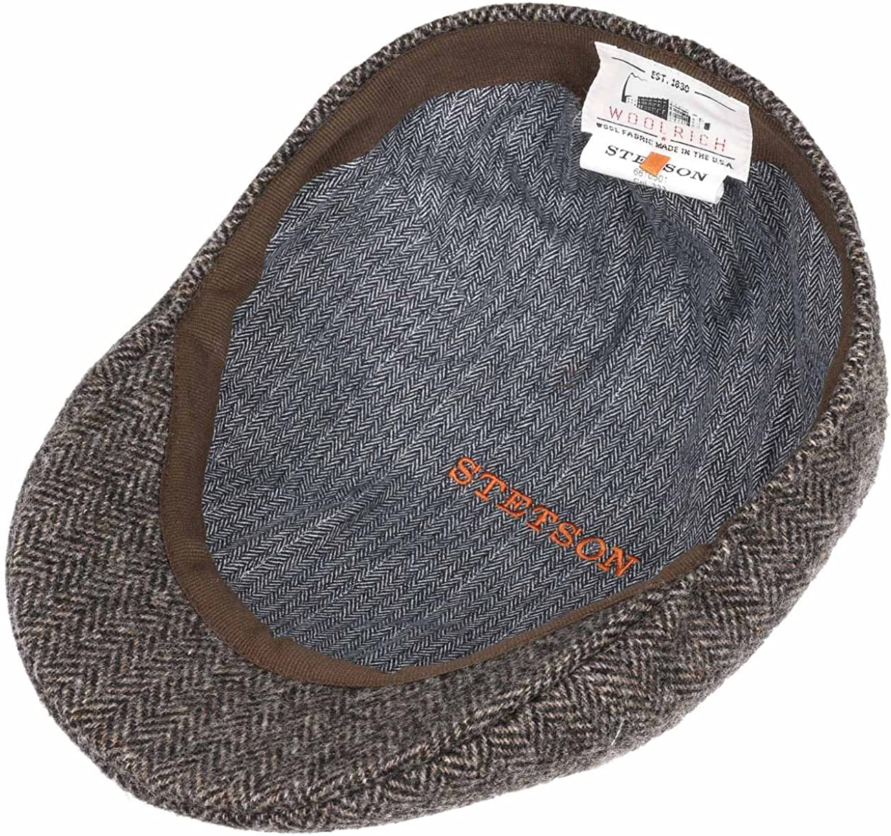 Stetson Gorra Texas Wool Herringbone Hombre - Made in The EU de ...