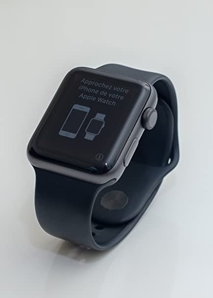 Apple Watch Series 3 Reloj Inteligente Gris OLED GPS (satélite) - Relojes Inteligentes (
