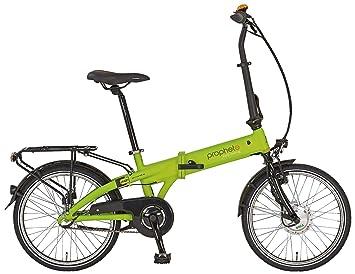 Prophete bicicleta eléctrica E-Bike de aluminio bicicleta plegable 20 pulgadas navegador 6.1, Lemon