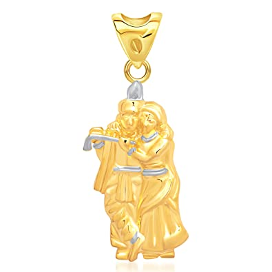 Buy vk jewels religious collection gold brass alloy cz american vk jewels religious collection gold brass alloy cz american diamond god pendant with chain for women aloadofball Gallery