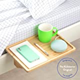 BedShelfie The Original Bedside Shelf - 9 Colors / 4 Sizes - AS SEEN ON Business Insider as The Perfect College Dorm Room Essential (Minimalist Style, Natural in Bamboo)