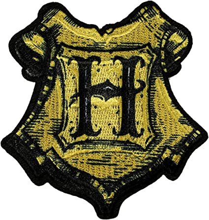 Harry Potter Hogwarts Large Full Embroidered Iron On Sew On Patch Badge