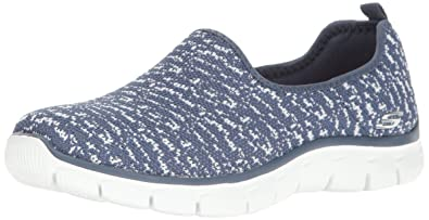 Skechers Damen Slipper Empire Sweet Scene Blau/Weiß