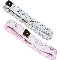 6pack 1.5m Body Measuring Ruler Sewing Tailor Tape Measure Mini Soft Flat Ruler Centimeter Meter Sewing Measuring Tape Random Color