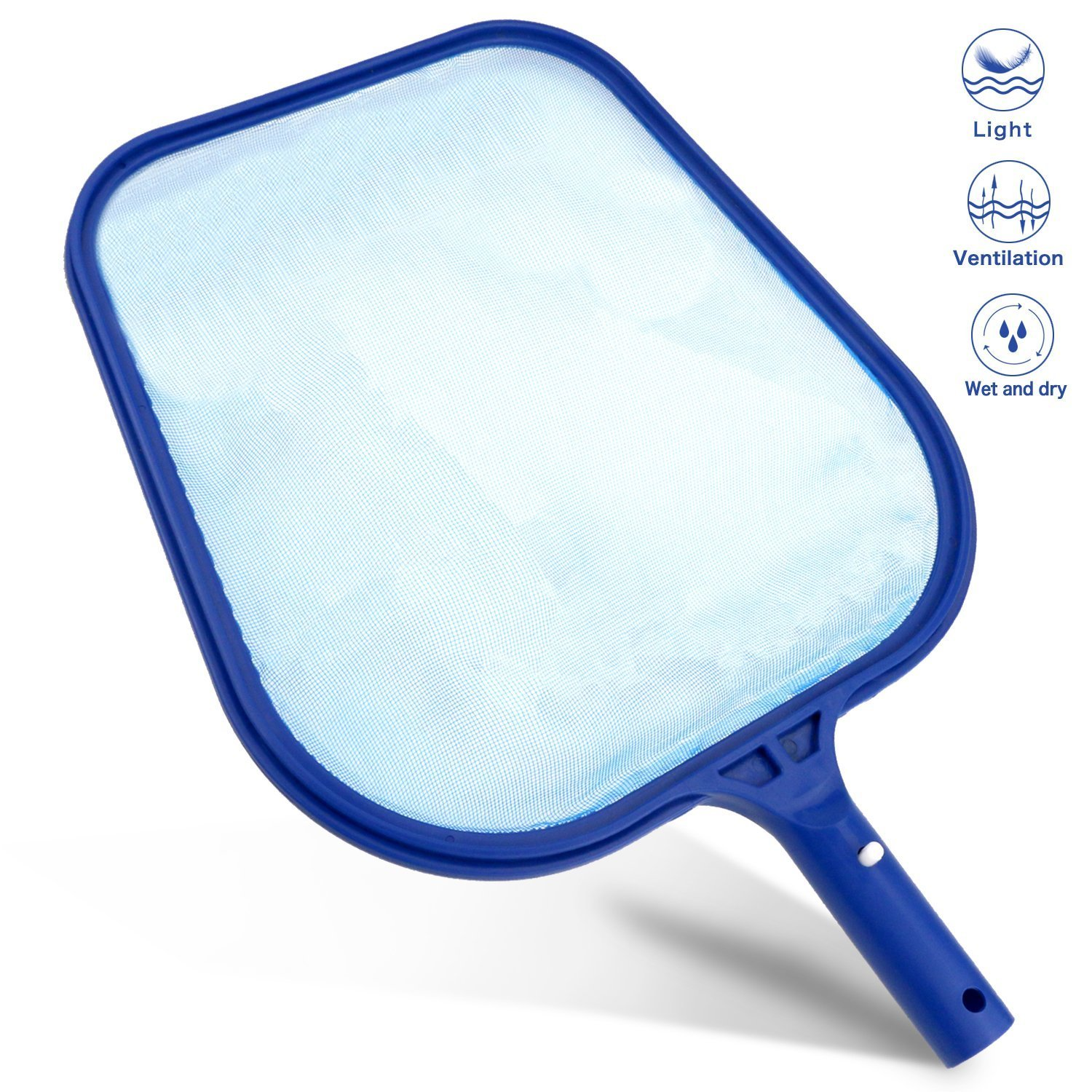 Kungfu Mall Hot Tub Cleaning Kit Accessories Contain Pool Net Paddling Pool Brush and Scrubber Pad All in 1 with a Pair Gloves as a Gift