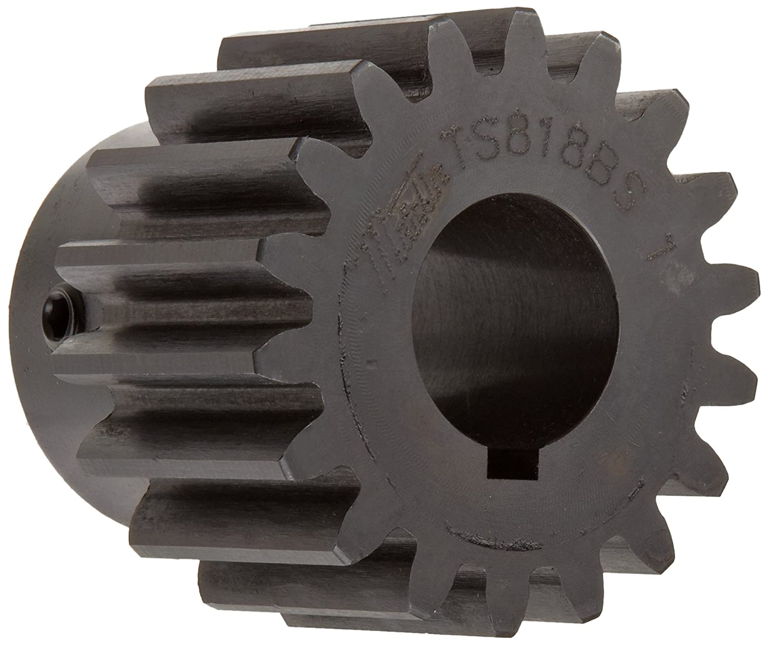 Martin TS2021 Spur Gear 20° Pressure Angle High Carbon Steel Inch 20 Pitch 1 2 Bore 1.15 OD 0.500 Face Width 21 Teeth