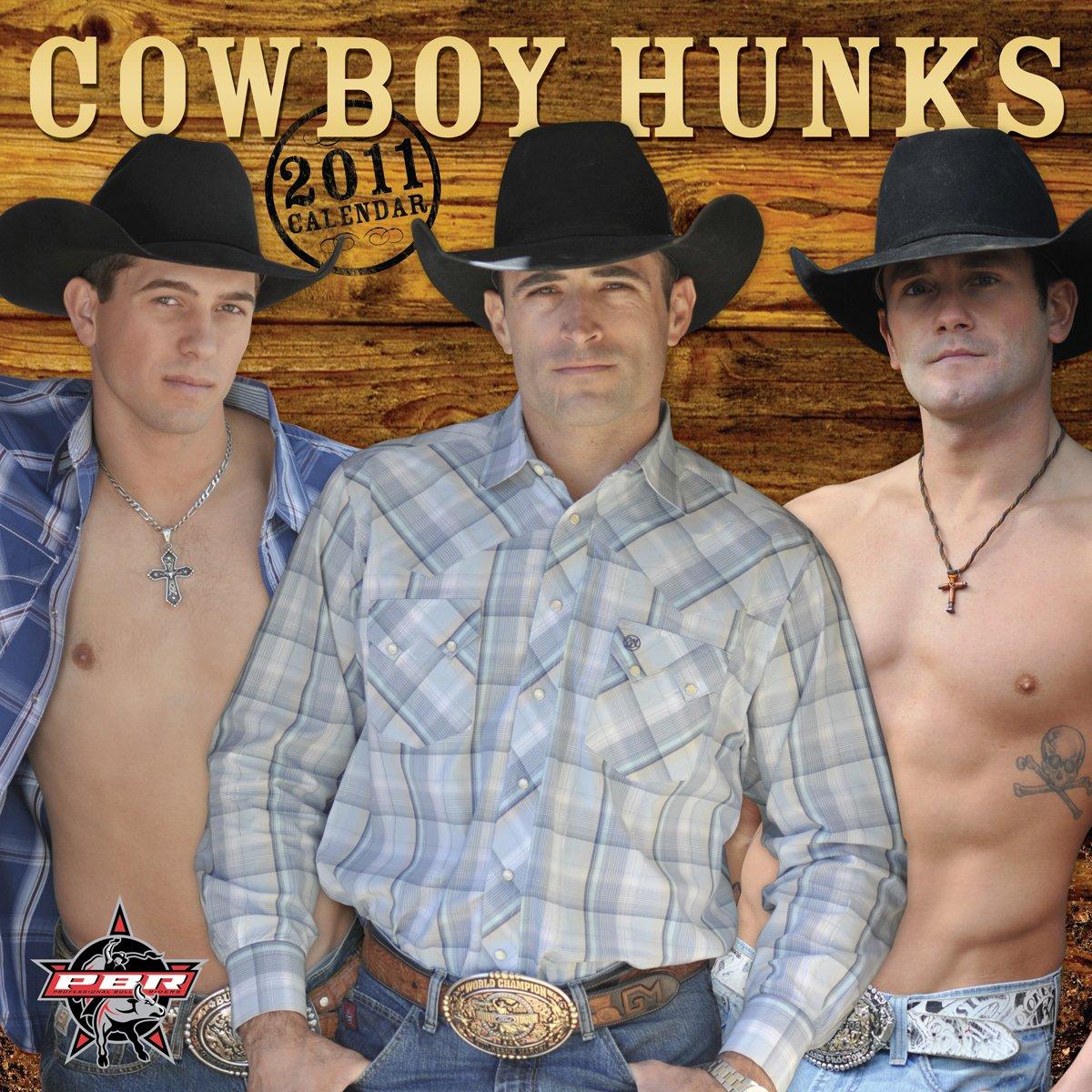 pbr cowboy hunks 2011 wall calendar