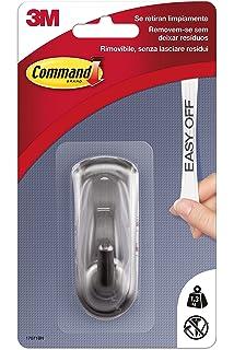 Command 17071BN - Gancho Mediano, Metalizado énfasis