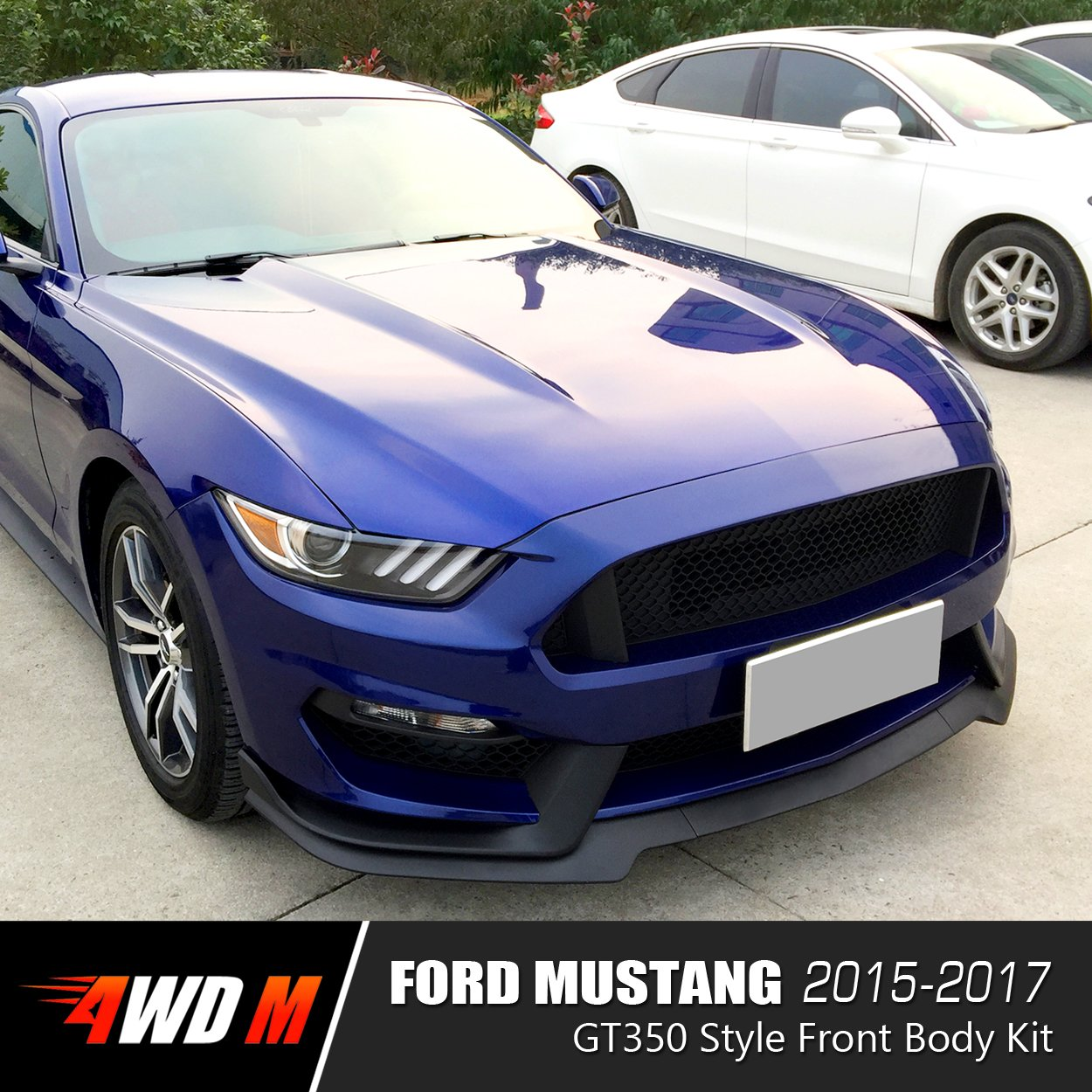 Ford MUSTANG Wiper Blades Front Set Fits To Car Reg 2015 TO 2016