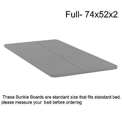 Amazon.com: Mattress Solution 1.5 Inch Solid Wood Split Bunkie