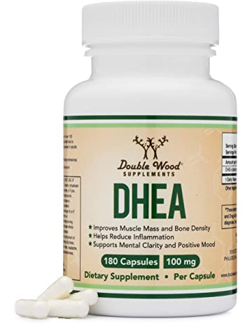 DHEA 100mg – 180 Capsules -Third Party Tested, Made in The USA (Max