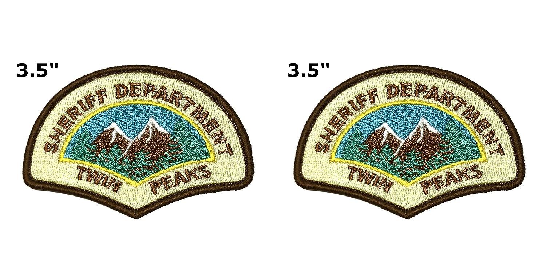 Amazon.com: Twin Peaks National Park Series - Parche bordado ...