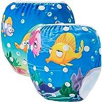 Storeofbaby Swim Nappy traje de baño lavable reutilizable para bebés unisex lecciones de 0-3 años
