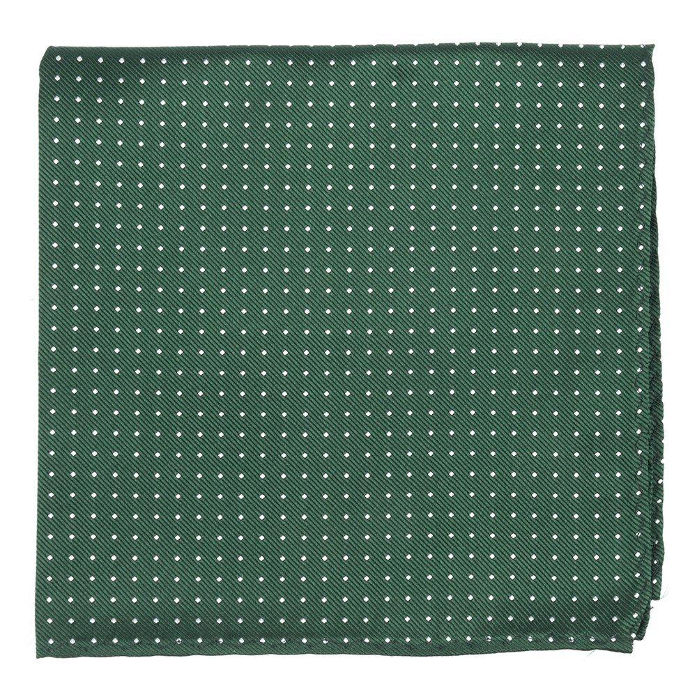 The Tie Bar Mini Dots 100% Woven Silk Pocket Square PP1332