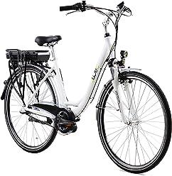cb3e22afd5449b LLobe Marken Elektro Fahrrad E-Bike 28 Alu City - 36V 250 Watt