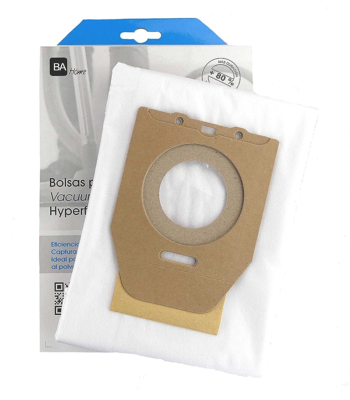 10 Bolsas de alta calidad + 2 microfiltros recortables para ...