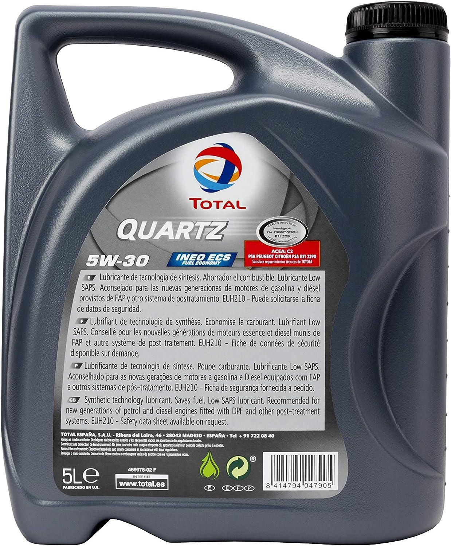 Total Quartz Ineo Ecs 5w30 5l Motorenöl 5l Auto