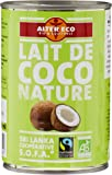 Alter Eco Lait de Coco Nature Bio et Equitable 400 ml