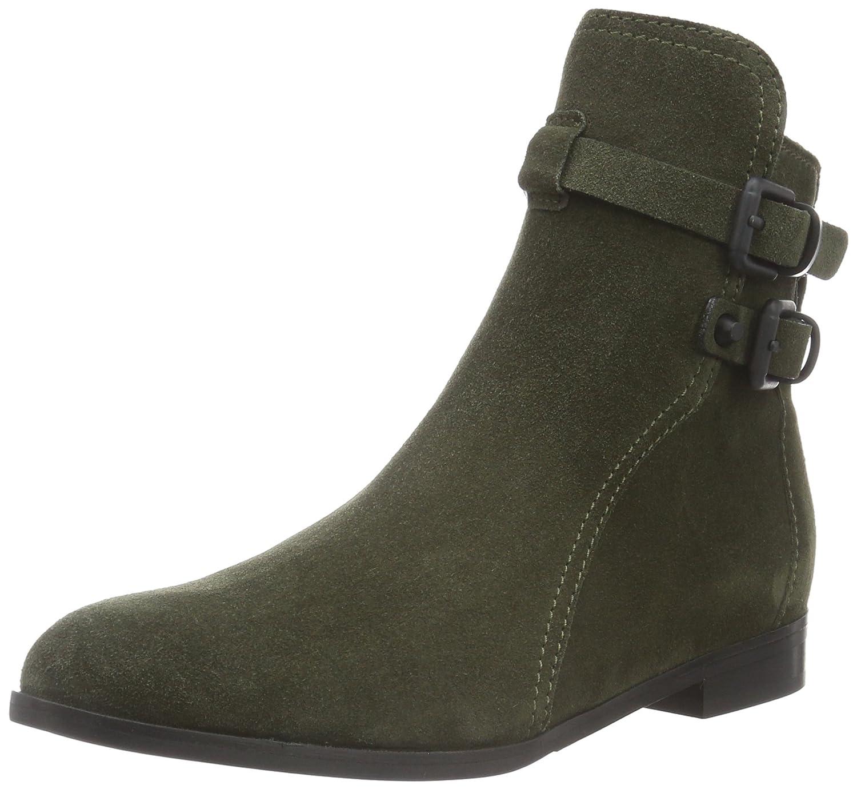 Mehrfarbig (Olive schwarz 255) Kennel und Schmenger Schuhmanufaktur Damen Taylor Kurzschaft Stiefel