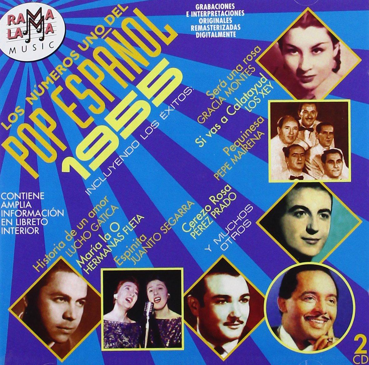 Los Numeros Uno Del Pop Espanol 1955 - Los Numeros 1 Del Pop Espanol 1955 / Various - Amazon.com Music