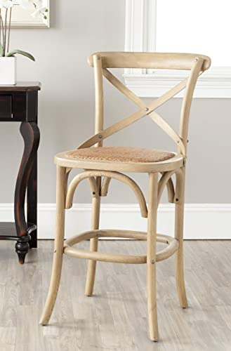 Safavieh American Homes Collection Franklin Counter Stool, Oak