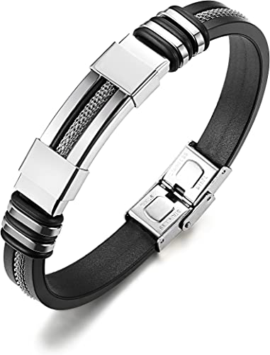 bracelet homme silicone