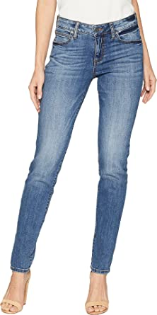 0bb68eac9a8 KUT from the Kloth Women's Diana Kurvy Skinny Jeans in Perfection Perfection/Medium  Base Wash