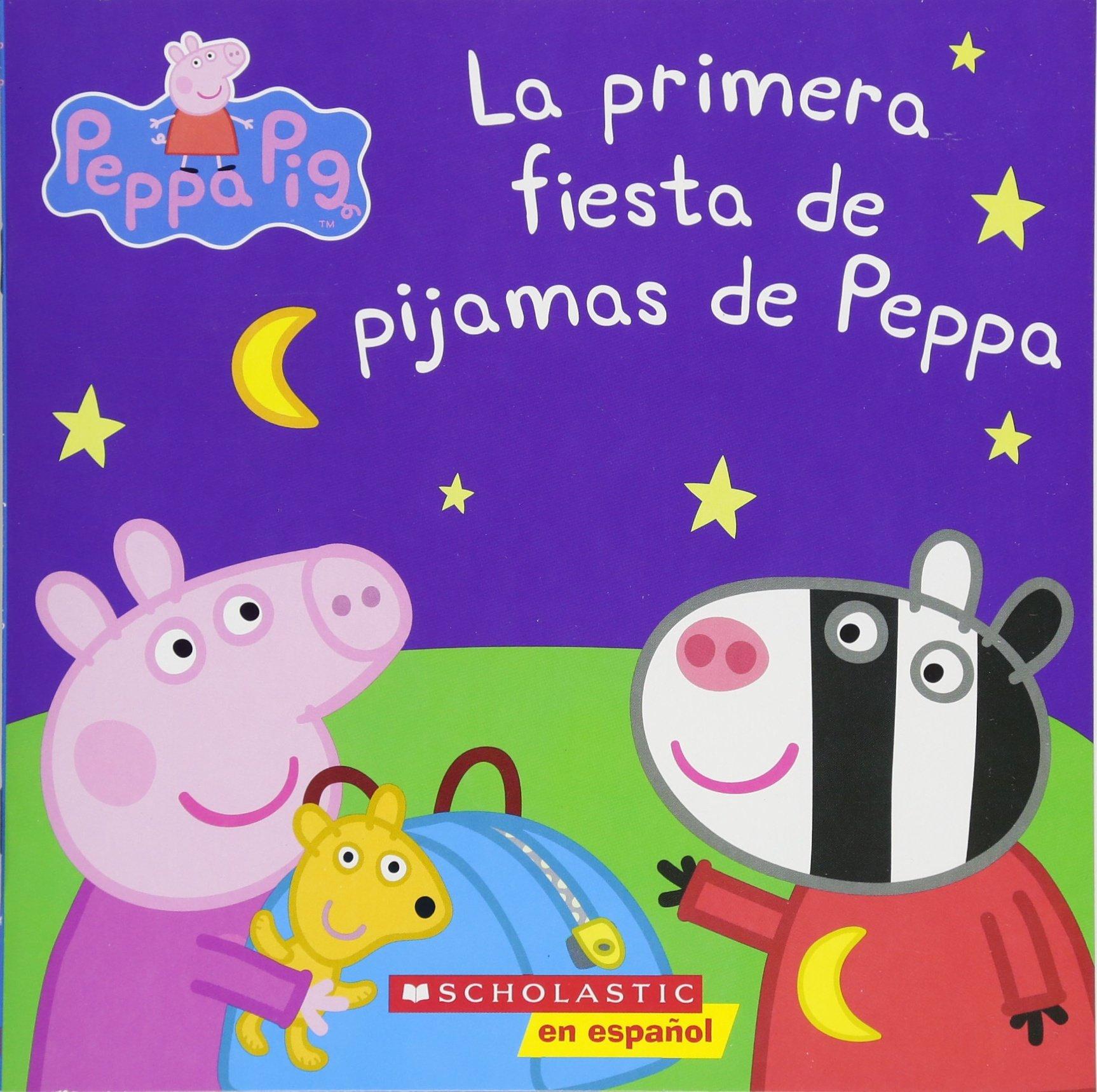 La Peppa Pig  La Primera Fiesta De Pijamas De Peppa  Peppa's First Sleepover  = Peppa's First Sleepover
