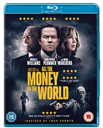 Amazon com: All The Money In The World [Blu-ray] [2018