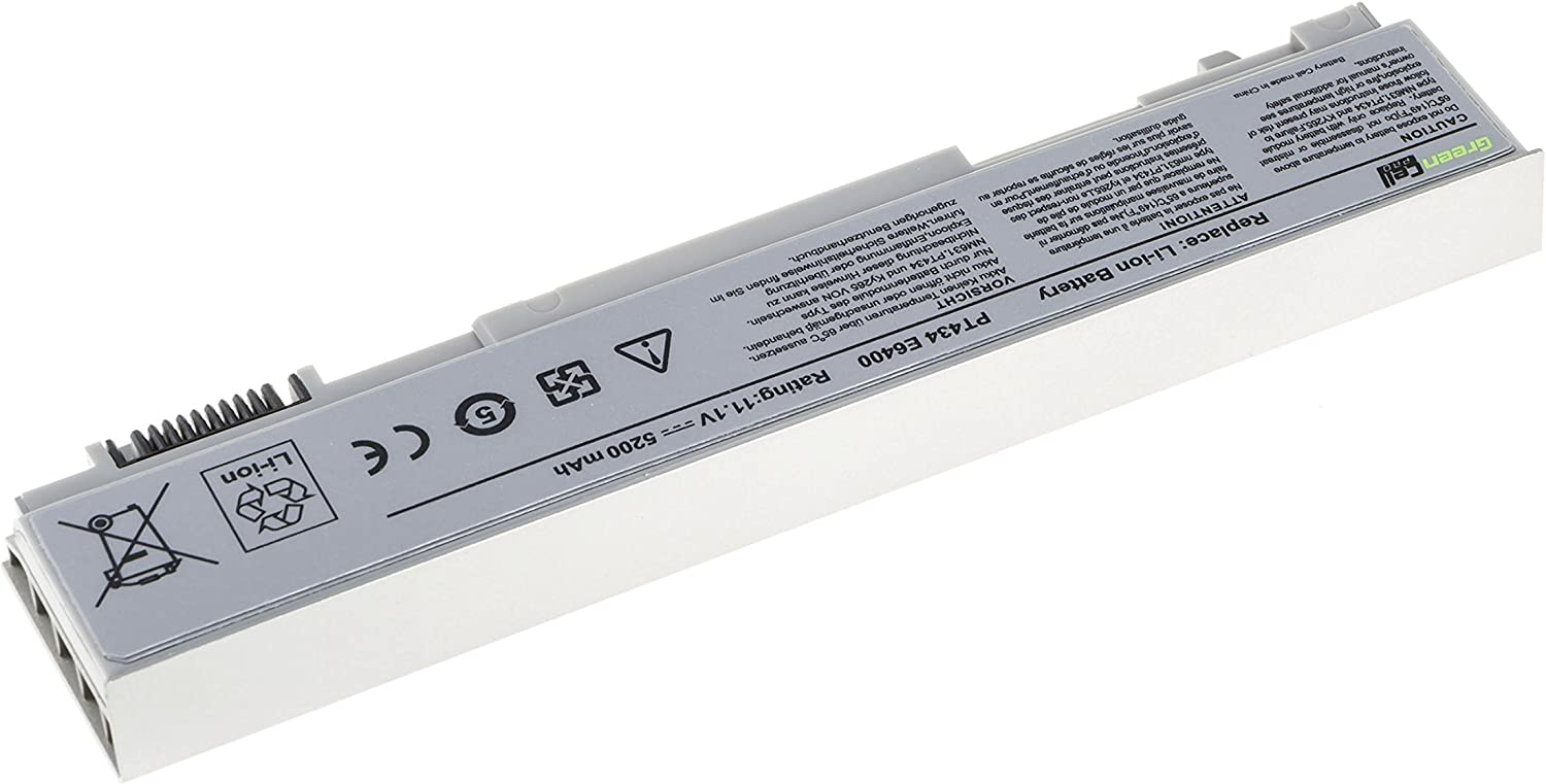 Green Cell PRO Series PT434 W1193 4M529 Battery for Dell Latitude ...