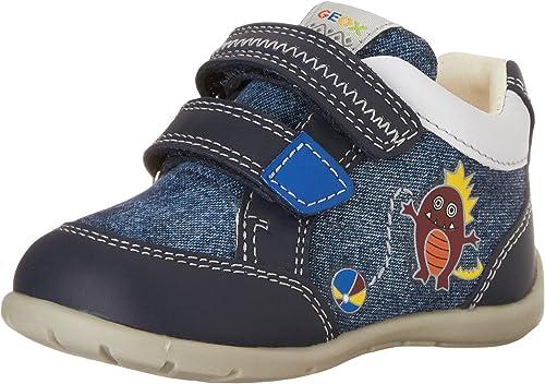 Intacto detección Negociar  Geox B Kaytan C Chaussures d'apprentissage pour bébé garçon - Bleu -  Marine, 18 EU: Amazon.fr: Chaussures et Sacs