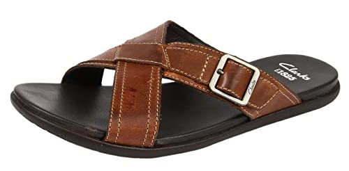 212250d1686 Clarks Men s Valor Slide Flip-Flops and House Slippers  Buy Online ...