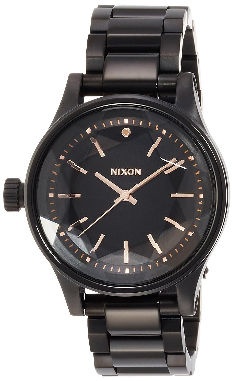 [ニクソン]NIXON FACET 38: ALL BLACK/ROSE GOLD NA409957-00 レディース 【正規輸入品】 B0150WDF1I