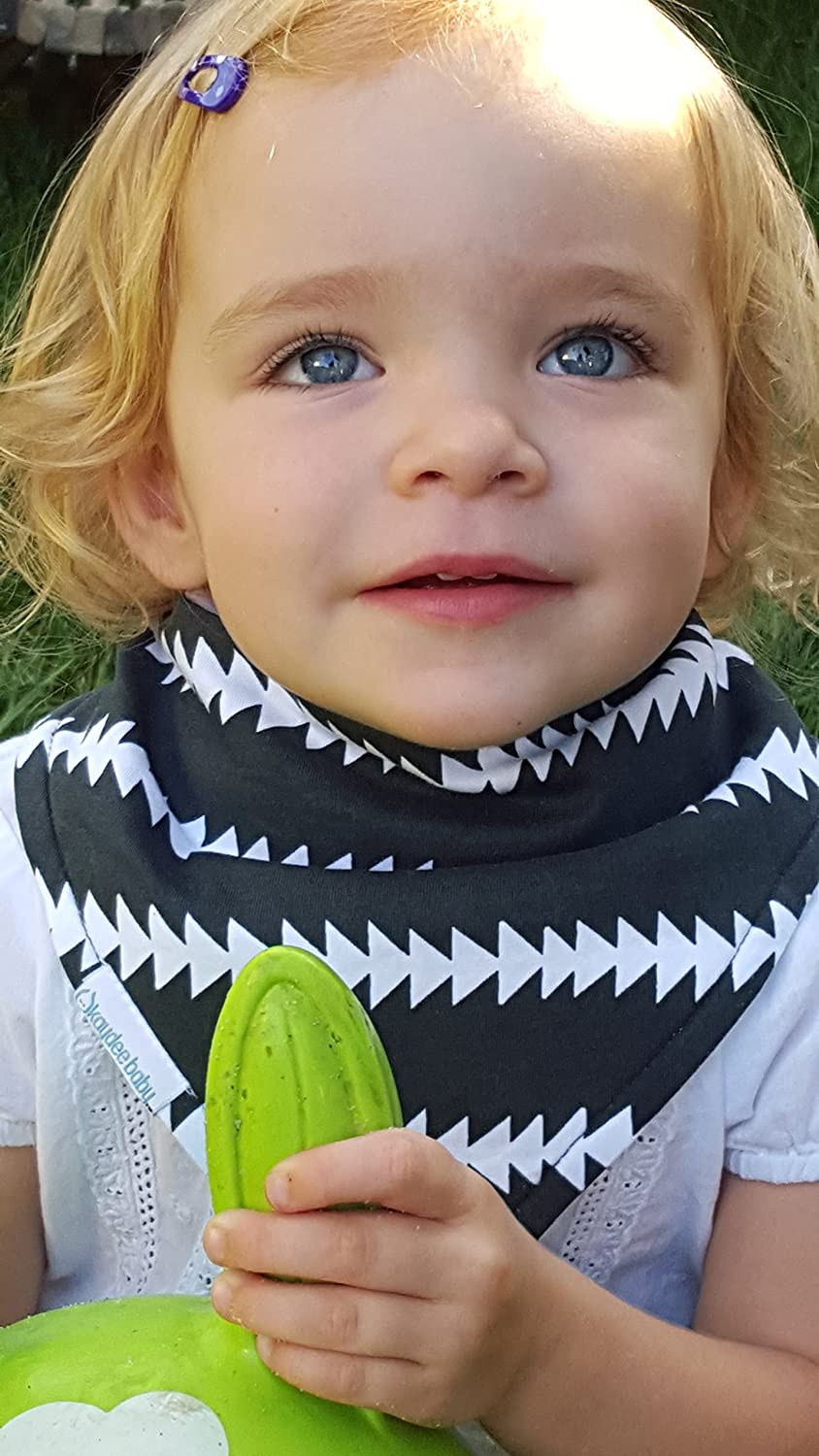 Kaydee Baby Unisex Absorbent Bandana Bibs-For Boys and Girls-Variety of Options
