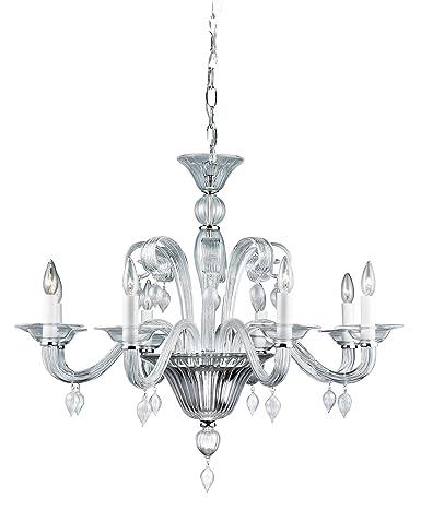 Amazon.com: eurofase ciatura 8-Light – Lámpara de techo con ...