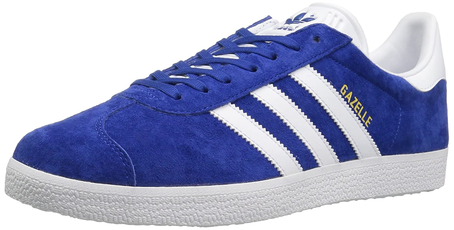adidas Men's Gazelle Casual Sneakers B01HLJI9FA 9.5 M US|Collegiate Royal/White/Gold Met.
