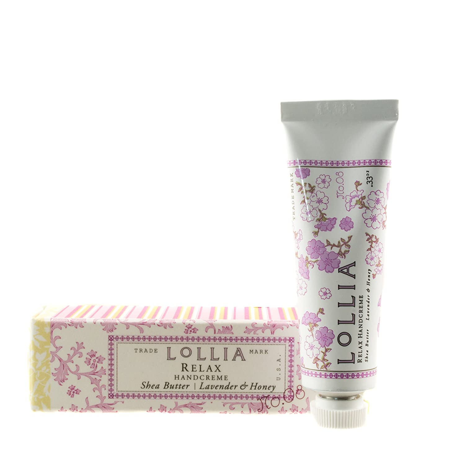 Lollia Relax Petite Treat Shea Butter Handcreme-0.33 oz.