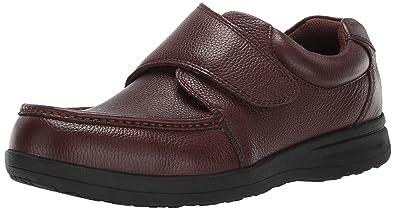 Nunn Bush Men/'s   Cam Moc Toe Hook and Loop Slip On Shoe
