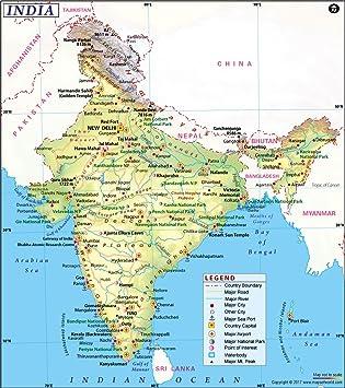 Amazon.com : India Map (36