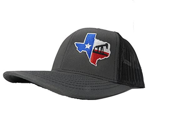 29a602b473a ... best price richardson 3d puff texas flag rig drilling oil field hat cap  snapback adjustable adult
