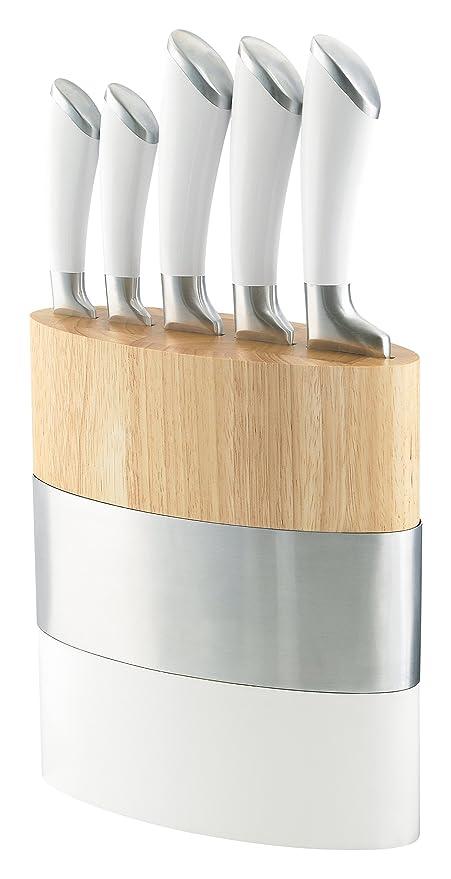 Richardson Sheffield Fusion Fashion Modern Kitchen Knife Block Set