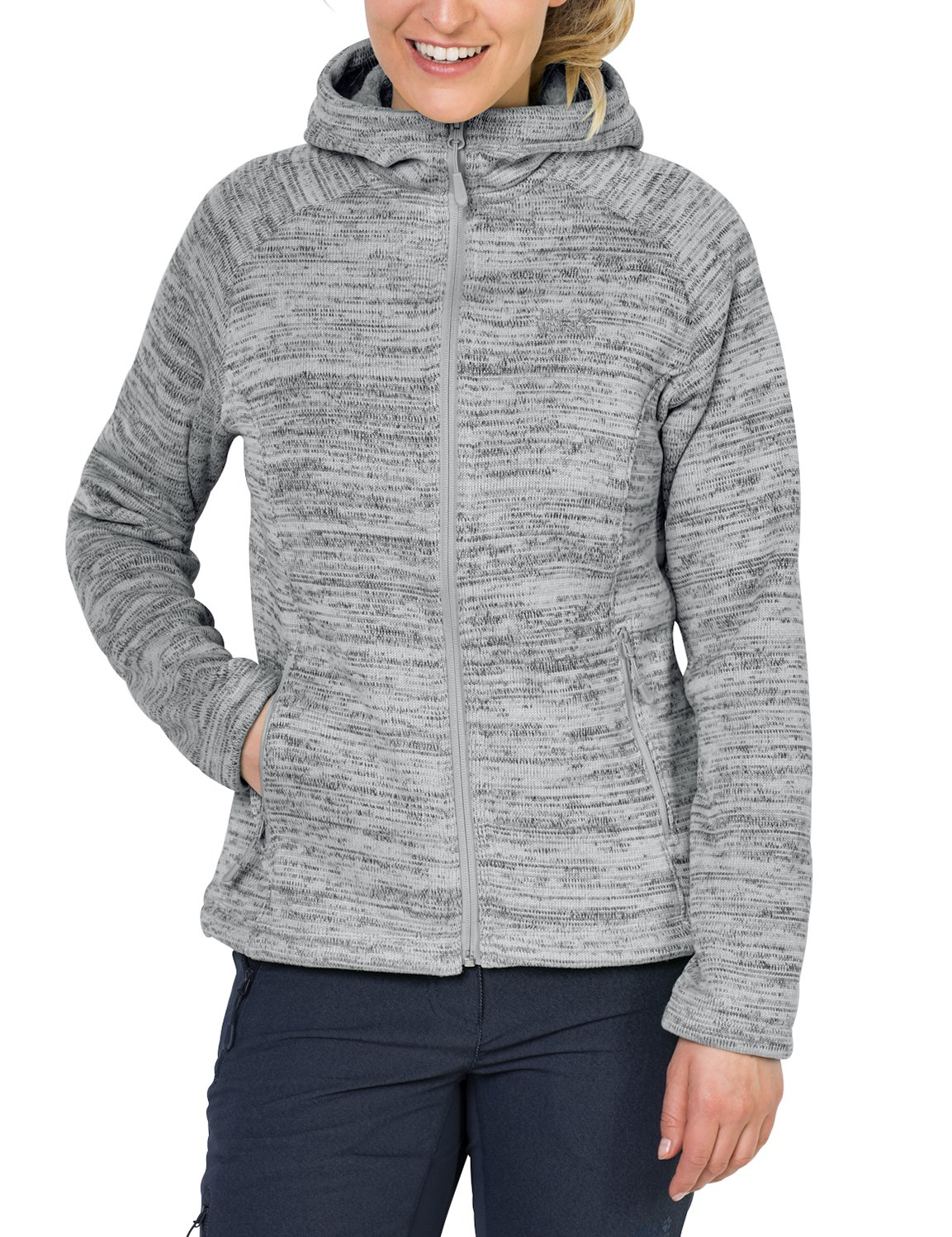 Jack Wolfskin Damen Aquila Hooded Jacket damen Fleecejacke