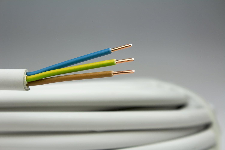 as - Schwabe NYM-J Kabel 3 x 1,5 mm², 20m Mantel-Leitung ...