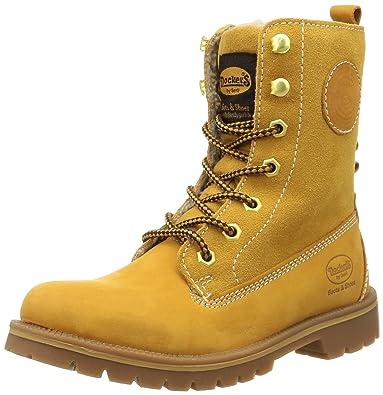 Dockers by Gerli Damen 41HL303-350 Desert Boots, Gelb (Golden Tan), 39 EU