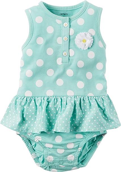 8e29f2e57 Carters bebé niñas body de lunares para niña rosa 118 G298  Amazon.es  Ropa  y accesorios
