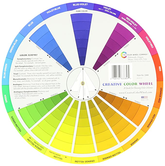 Creative Color Wheel Farbmischrad, in englischer Sprache: Amazon.de ...